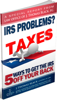 I.R.S. Problems? - 5 Ways to Get the I.R.S Off Your Back!