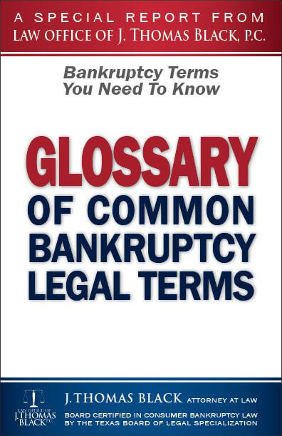 Glossary of Common Bankruptcy Terms - Bankruptcy Terms You Need to Know