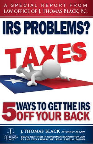 Free Special Report: I.R.S. Problems? - 5 Ways to Get the I.R.S Off Your Back!