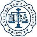 Logo Recognizing Law Office of J. Thomas Black, P.C.'s affiliation with the Houston Bar Association
