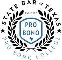 Logo Recognizing Law Office of J. Thomas Black, P.C.'s affiliation with the Pro Bono College