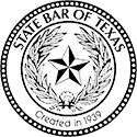 Logo Recognizing Law Office of J. Thomas Black, P.C.'s affiliation with the State Bar of Texas